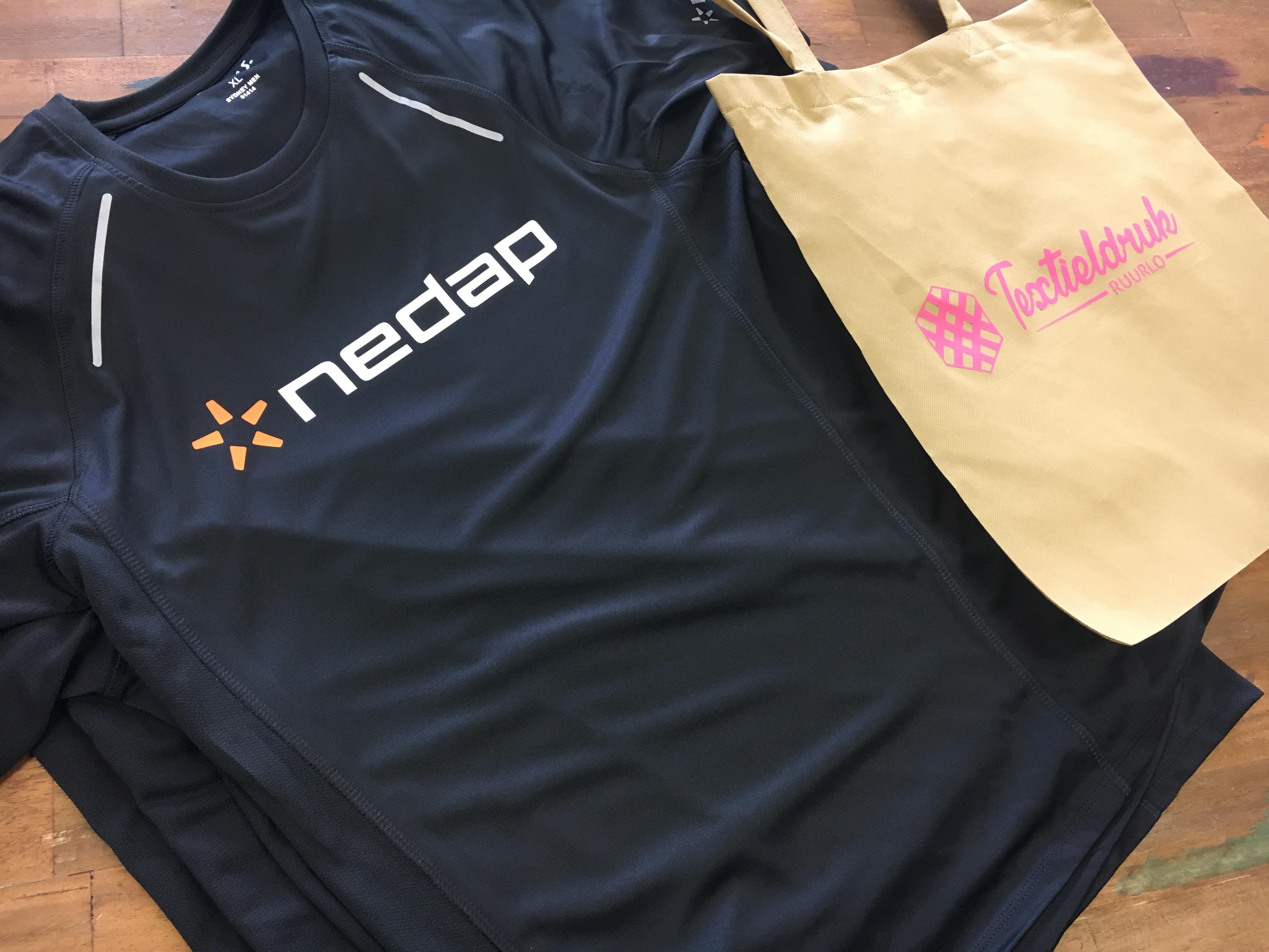 bedrukte sport shirts Nedap 3