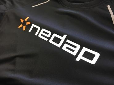 Bedrukking Nedap sportshirts